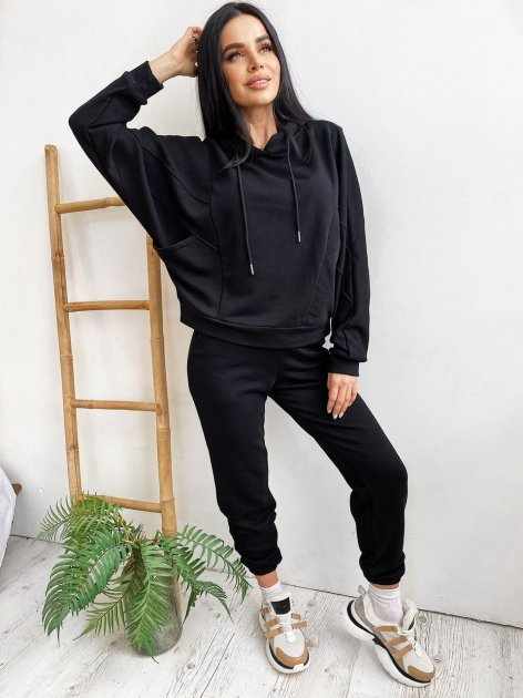Спортивный костюм Larionoff MAJOR 42-44 Черный (Lari2000405705874) - изображение 1
