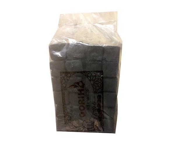 Уголь для Кальяна Gorih 1 кг 72 шт без упаковки - изображение 1
