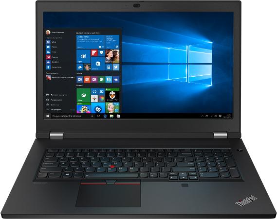 Ноутбук Lenovo ThinkPad P17 Gen 1 (20SN0048RT) Black - зображення 1