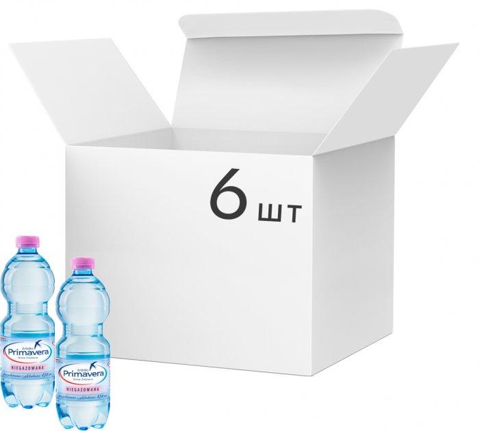 Упаковка минеральной негазированной воды Primavera 0.5 л х 6 шт (5903978396692) - изображение 1