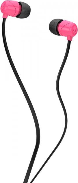Наушники Skullcandy Jib in ear w / Mic 1 Pink/Black/Pink (S2DUYK-630) - изображение 1