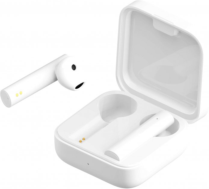 Навушники Xiaomi Mi True Wireless Earphones 2 Basic White (BHR4089GL) - зображення 1
