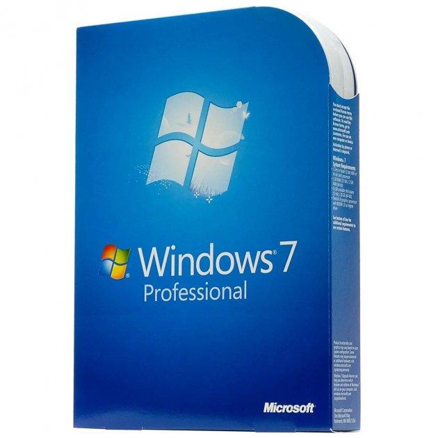 Операционная система Microsoft Windows 7 Professional 32/64bit Russian BOX (FQC-00265) - изображение 1