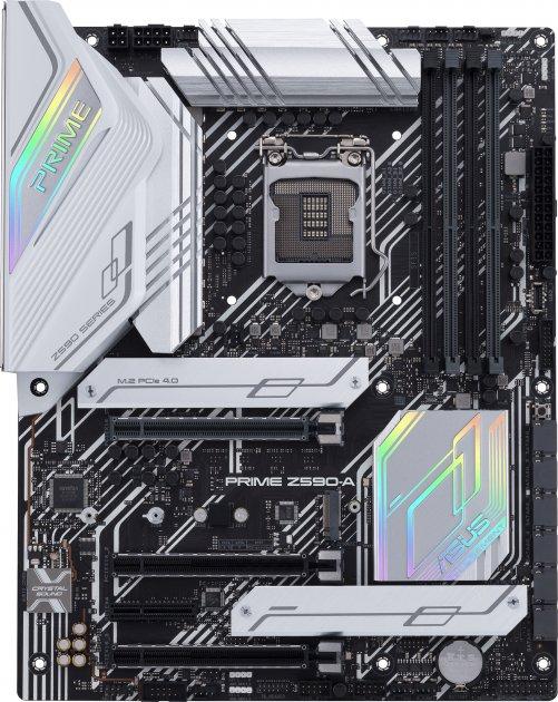 Материнская плата Asus Prime Z590-A (s1200, Intel Z590, PCI-Ex16) - изображение 1