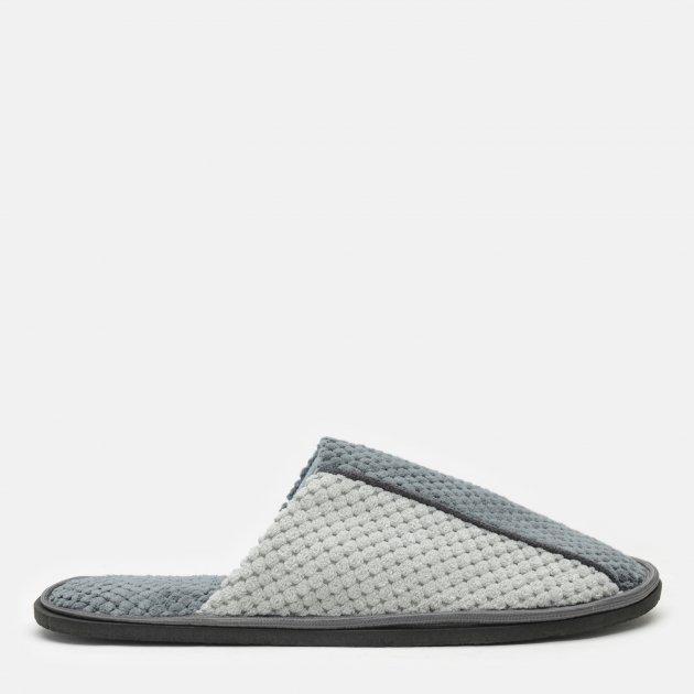 Комнатные тапочки FX shoes Дорис 18003 40-41 Серые (2820000009470) - изображение 1