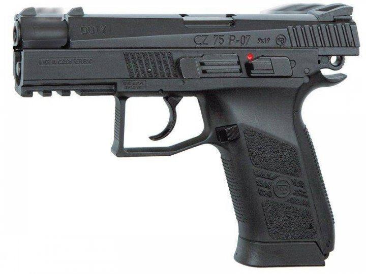 Пневматический пистолет ASG CZ 75 P-07 Blowback - зображення 1