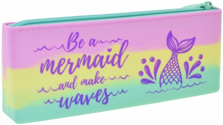 Пенал Yes Mermaid мягкий 1 отделение Разноцветный (532314) - изображение 1
