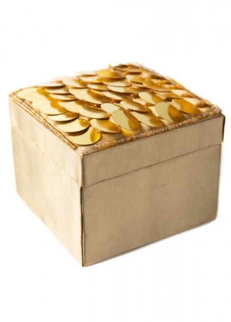 Декоративна коробочка з паєтками (dec0000426) - зображення 1