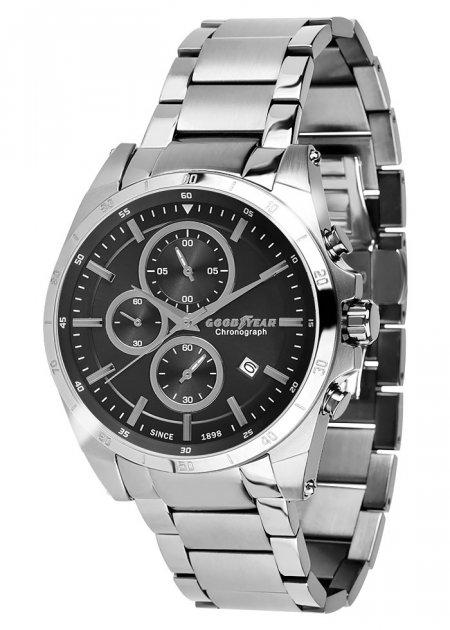 Годинники чоловічі Goodyear G. S01226.04.01 срібні - зображення 1