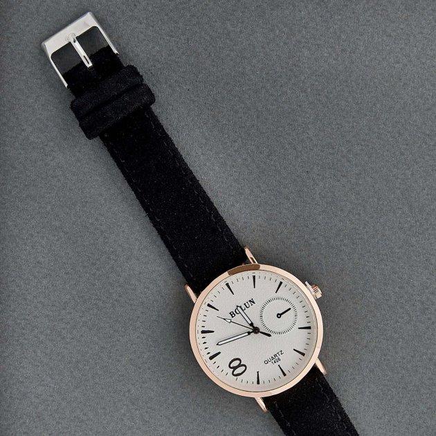 Классические Женские Часы Bolun BM3-25 c Черным ремешком - изображение 1