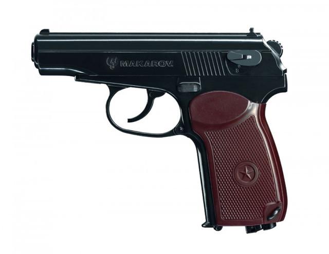 Пневматический пистолет Umarex makarov - изображение 1