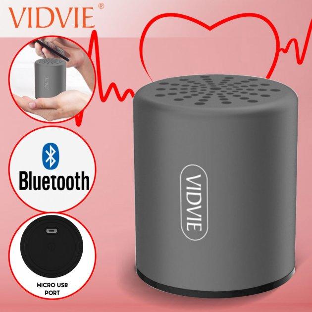 Портативная колонка Vidvie GO 909 Portable Bluetooth Speaker Black (vidvie909) - изображение 1