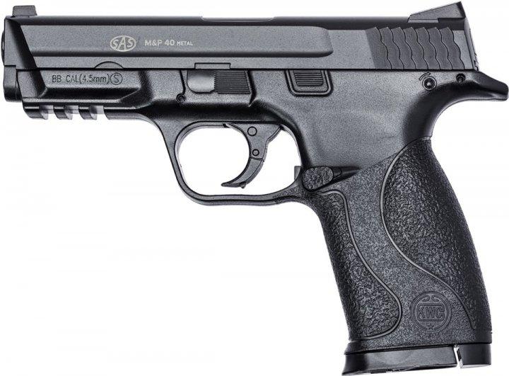 Пистолет пневматический SAS S&W MP-40 (23703003) - изображение 1