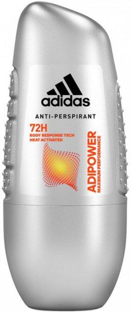 Дезодорант-антиперспирант шариковый Аdidas M Adipower 50 мл (3614224050375) - изображение 1