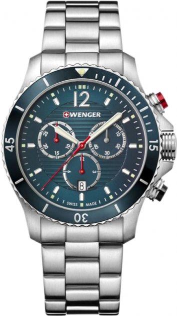 Чоловічий годинник Wenger Watch W01.0643.115 - зображення 1