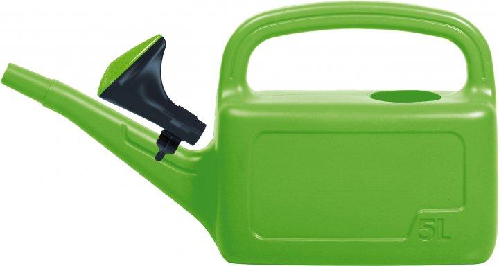 Садовая лейка Prosperplast AQUA 5 л Зеленая (5905197962559) - изображение 1