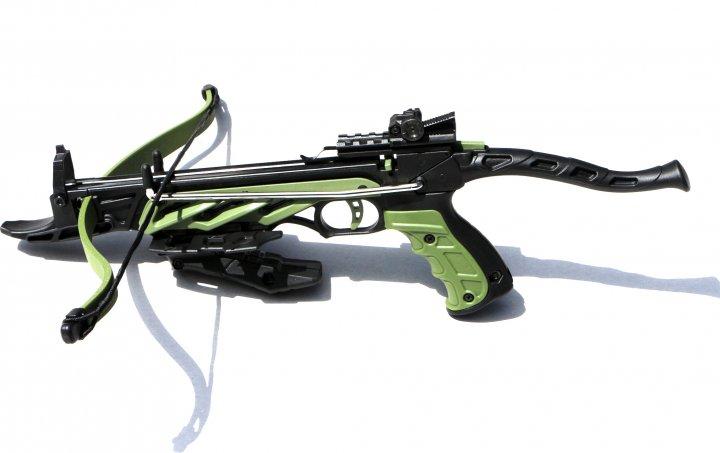 Арбалет-пистолет Man Kung MK/TCS1-G самозарядный 3 стрелы (MK/TCS1-G) - изображение 1
