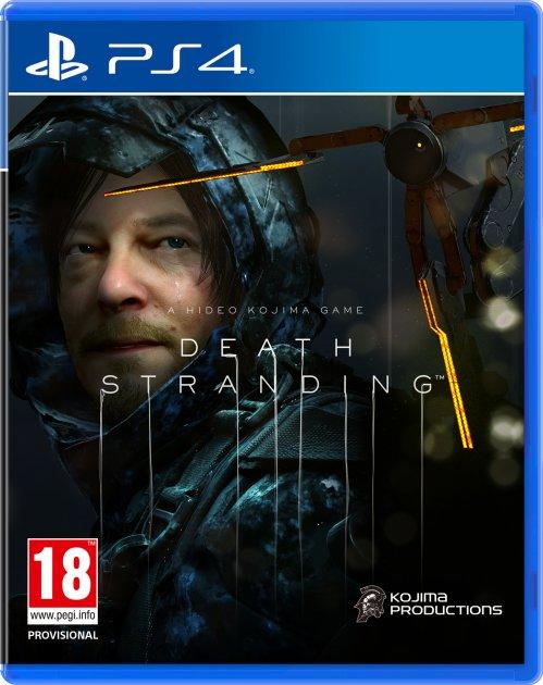 Игра Death Stranding для PS4 (Blu-ray диск, Russian version)