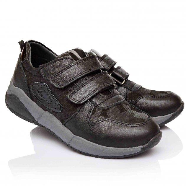 Кроссовки для мальчиков Bayrak 32 Черные (852-02) - изображение 1