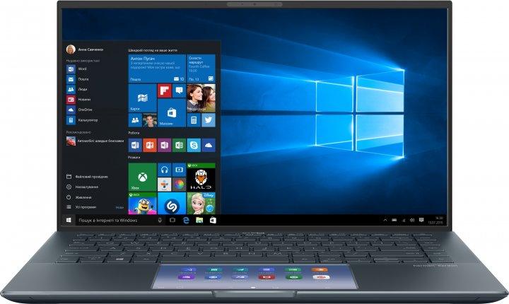 Ноутбук Asus ZenBook 14 UX435EA-A5022T (90NB0RS1-M00300) Pine Grey - изображение 1