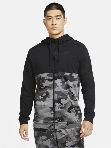 Толстовка Nike M Nk Dry Fz Fa Camo CU6048-010 M (194277146667) - зображення 1