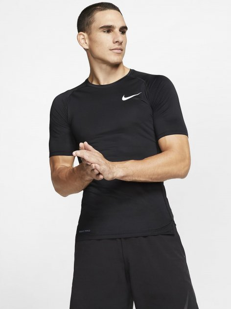 Рашгард Nike M Np Top Ss Tight BV5631-010 S (193151951489) - зображення 1