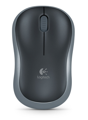 Мышь беспроводная Logitech M185 (910-002238) Grey USB - изображение 1