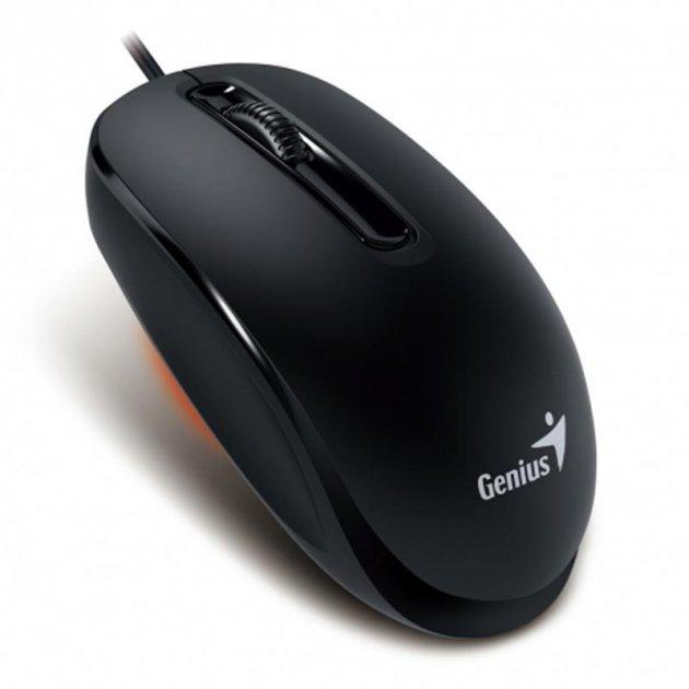 Мышь Genius DX-130 Black (31010117100) USB - изображение 1