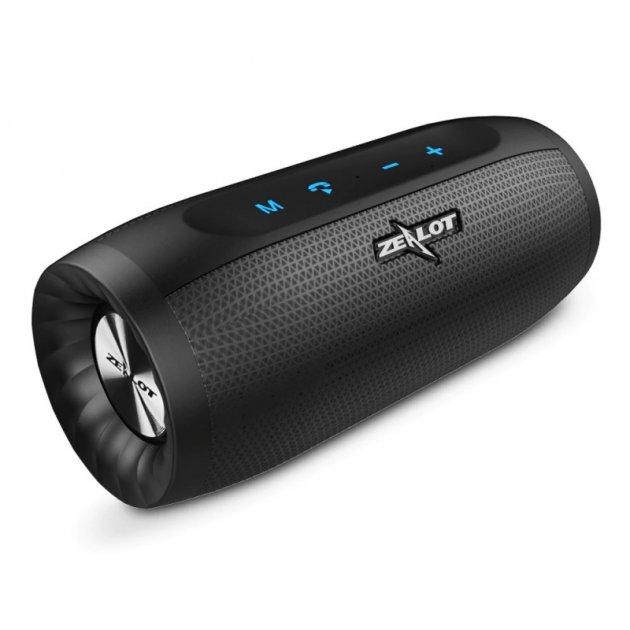 Bluetooth колонка ZEALOT S16 Smart Hi-Fi/AptX (Black) - изображение 1
