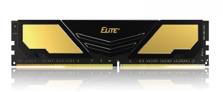Модуль пам'яті DDR4 16GB/2400 Team Elite Plus Gold/Black (TPD416G2400HC1601) - зображення 1