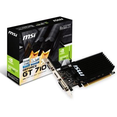 Видеокарта GeForce GT710 2048Mb MSI (GT 710 2GD3H LP) - изображение 1