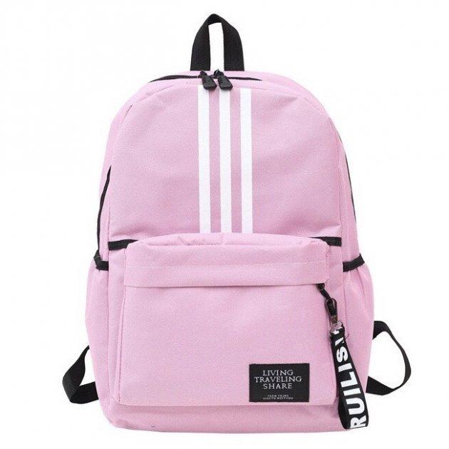Женский рюкзак TRAVEL розовый большой - изображение 1