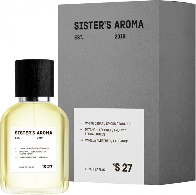 Парфюмированная вода унисекс Sister's Aroma 27 100 мл (4820227780297) - изображение 1