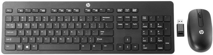 Комплект бездротовий HP Slim Keyboard and Mouse Wireless Black (T6L04AA) - зображення 1