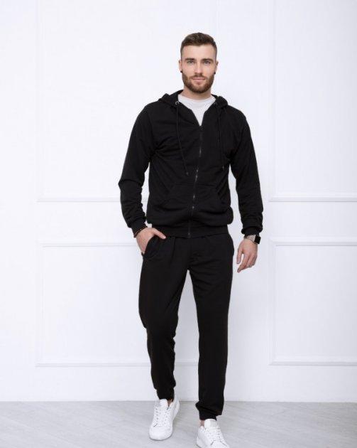 Спортивный костюм ISSA PLUS GN-414 S черный - изображение 1