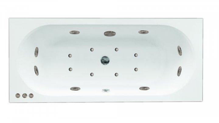 Гидромассажная ванна Besco Vitae 160x75 с гидромассажем и аэромассажем - изображение 1