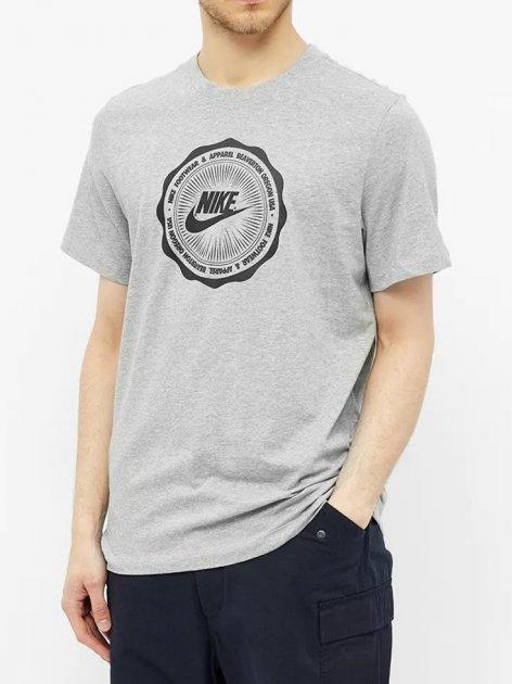 Футболка Nike M Nsw Ss Tee Bts Futura CW0481-063 L (194494790117) - изображение 1