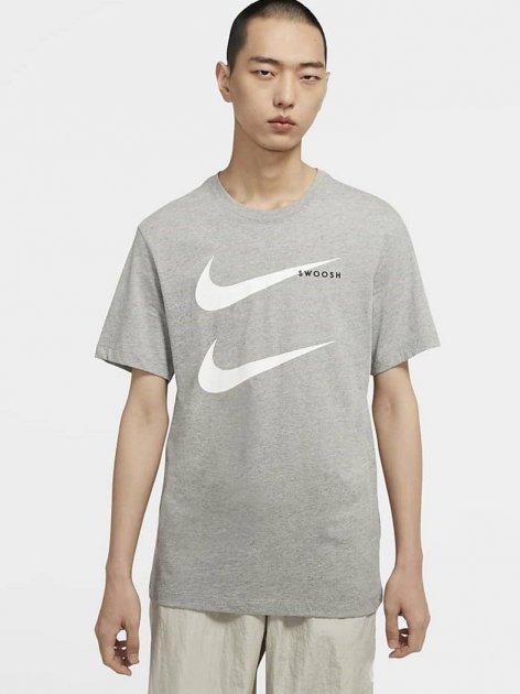 Футболка Nike M Nsw Ss Tee Swoosh Pk 2 CU7278-063 M (194494742017) - зображення 1