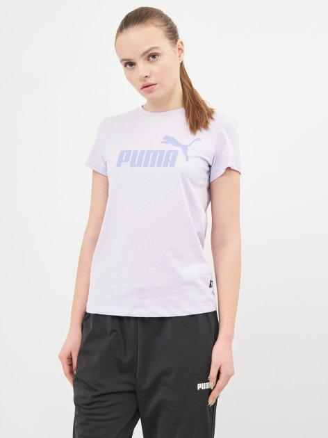 Футболка Puma ESS Logo Tee 58677516 S Light Lavender (4063697273641) - изображение 1