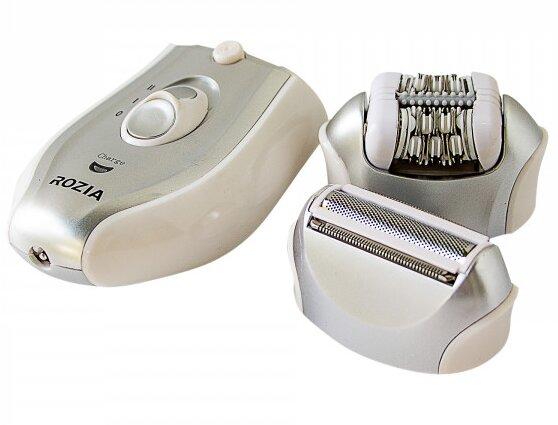 Эпилятор Женский 2-В-1 Rozia Hb-6005 Silver - изображение 1