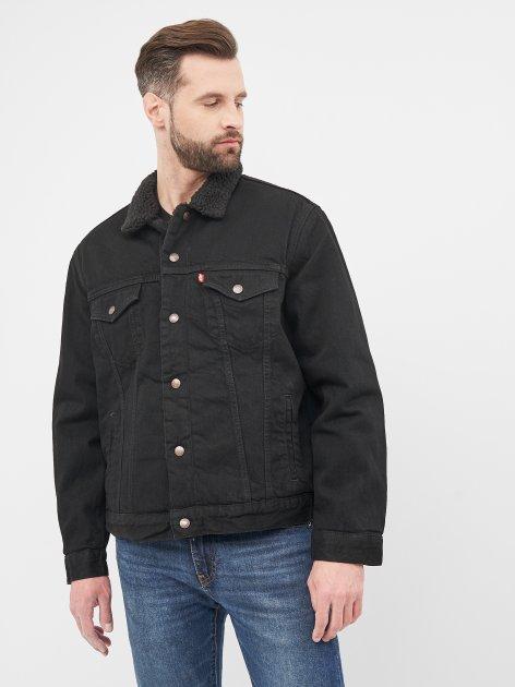 Джинсова куртка Levi's Type 3 Sherpa Trucker Berk 16365-0100 S (5400816074502) - зображення 1