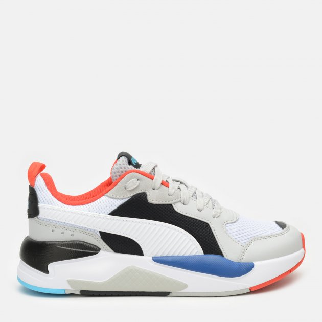 Кроссовки Puma X-Ray 37260228 37.5 (4.5) 23.5 см Gray Violet-Puma White-Puma Black-Poppy Red-Blue Atoll (4063697737785) - изображение 1