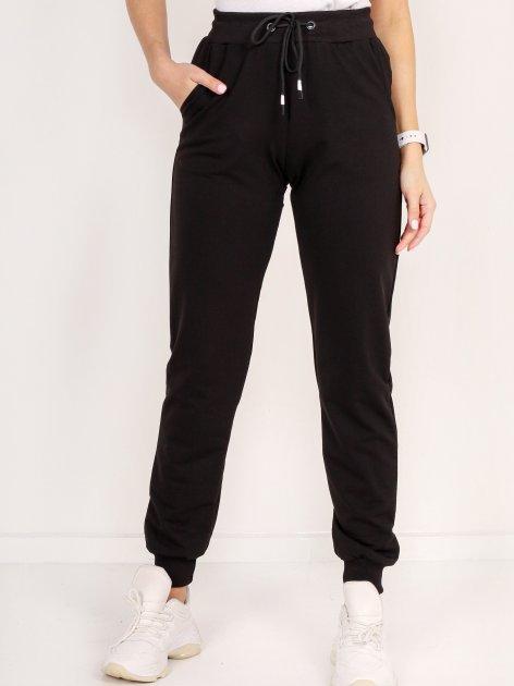 Спортивні штани DEMMA 804 48 Чорні (4821000046326_Dem2000000013695) - зображення 1