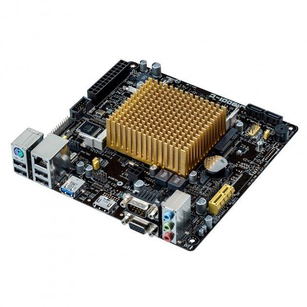 Материнська плата Asus J1800I-C Mini ITX - зображення 1