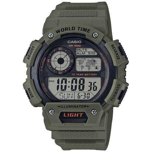 Годинник наручний Casio Collection CsCllctnAE-1400WH-3AVEF - зображення 1