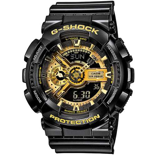 Годинник наручний Casio G-Shock CsG-ShckGA-110GB-1AER - зображення 1