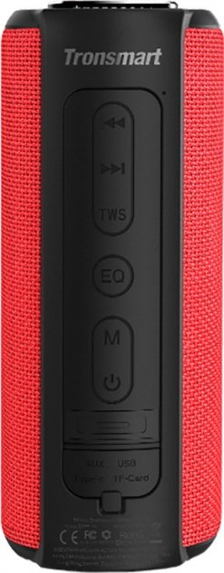 Портативная акустика Tronsmart Element T6 Plus Red TrnsmrtF_87291 - изображение 1