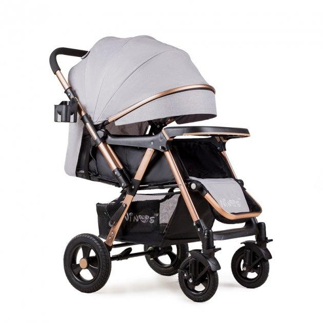Прогулочная коляска Ninos Maxi, Light Grey new - изображение 1