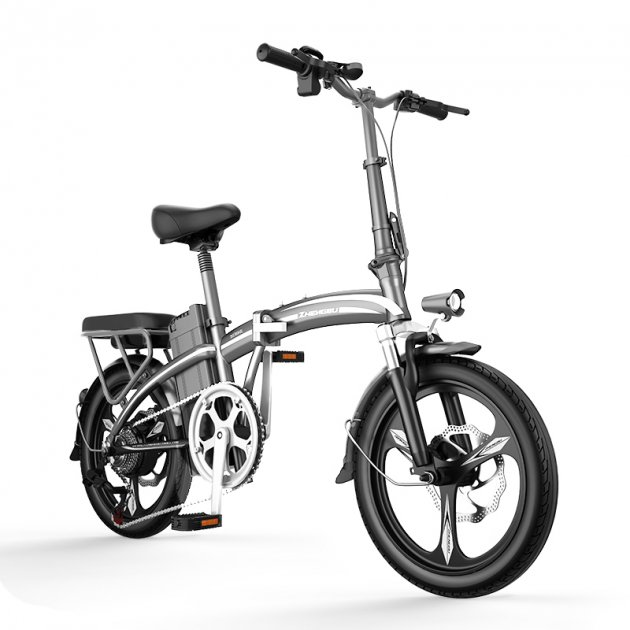 Электро Велосипед ZHENGBU F3 (Серый) - изображение 1