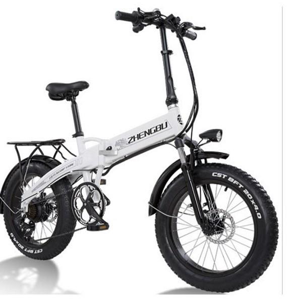 Електро Велосипед ZHENGBU XB (Білий) - зображення 1